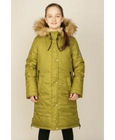 Пальто утеплённое для девочки YOOT-7129