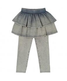 Брюки с юбкой для девочки KOG-151-326-48