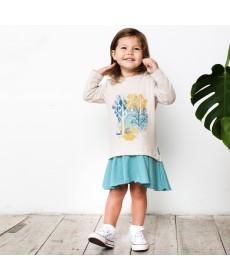 Платье для девочки KOG-161-330-02