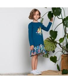 Платье для девочки KOG-161-330-08