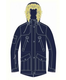 Куртка утеплённая для мальчика YOOT-1223