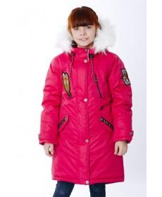 Пальто утеплённое для девочки YOOT-2778
