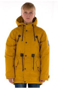 Утепленная куртка на флисе для мальчика