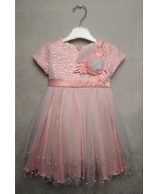 Платье для девочки MIN-ЖЕМЧУЖИНА